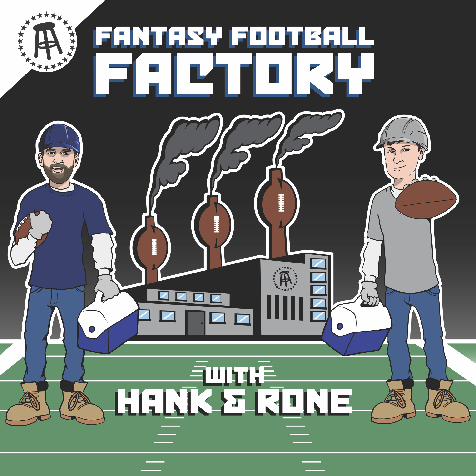 Fantasy Football Factory 9/19: Commissioner T is Obsessed With Tyler C and We Are At War With Fran (Featuring Kate)