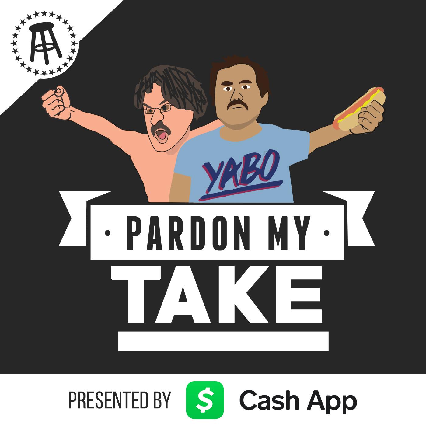 JJ Watt Pardon My Take podcast b45c7cd7d